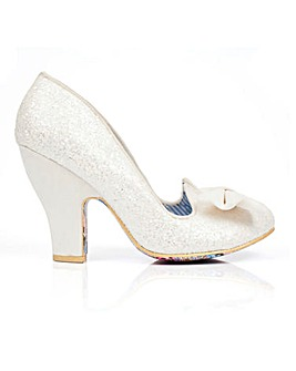 Irregular Choice Bridal Court Shoes