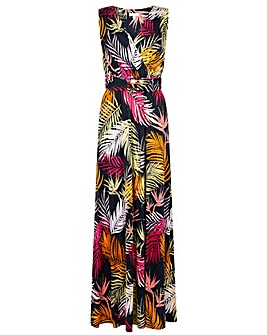 Monsoon Arni Palm Print Maxi Dress