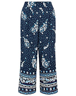 Monsoon PAISLEY PRINT CROP TROUSER