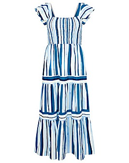 Monsoon STRIPE MAXI DRESS
