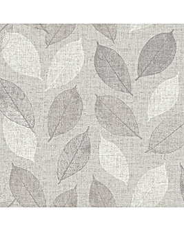 Linen Leaf Grey WP