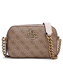 Guess Noelle Signature Stamp Logo Camera Bag