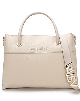 Valentino Bags Alexia Logo Strap Tote Bag