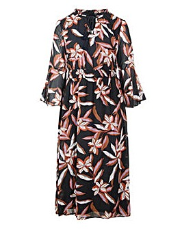 Lovedrobe Floral Print Maxi Dress