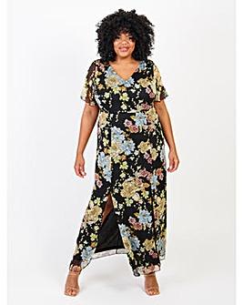 Lovedrobe Floral Print Maxi Dress