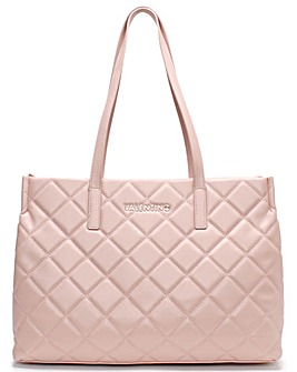 Valentino Bags Ocarina Quilted Tote Bag