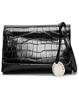 Emporio Armani Eagle Moc Croc Cross-Body