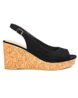 Jojo Basic Wedge Extra Wide Fit