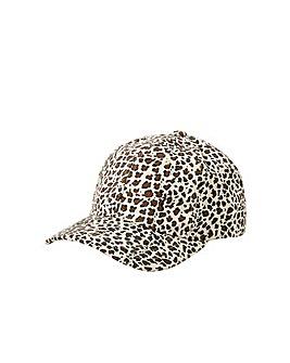 Accessorize Leopard Print Baseball Cap