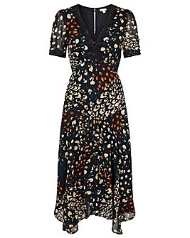 Monsoon Fia Sustainable Print Dress