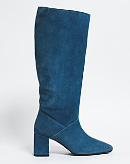 Naomi Leather Boots Wide Fit Standard Calf