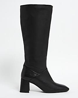 Naomi Leather Boots Ex Wide Super Curvy Calf