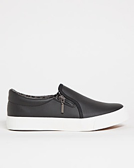 Slip On Pumps Extra Wide Fit