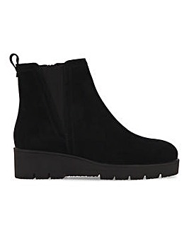 Wedge Ankle Boots Wide Fit