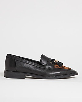 Finley Flat Loafer Shoes Wide Fit