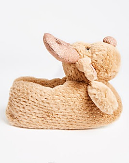 Rufus Novelty Reindeer Slippers