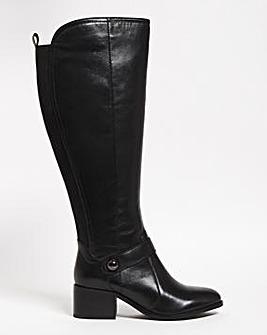 Briella High Leg Riding Boots Ex Wide Fit