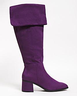 HighLeg Boots Ex Wide Super Curvy Calf