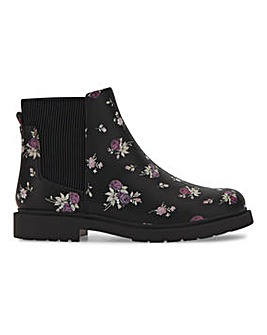 Ankle Boots Wide Fit
