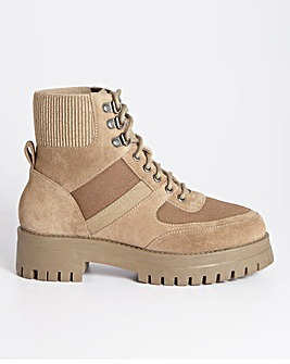 Utility Walking Boots Extra Wide Fit