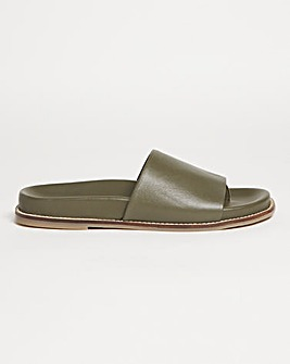 Leather Sandals Wide Fit