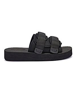 Meriol Chunky Flatform Sandal Standard Fit