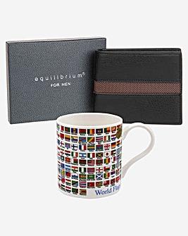 Flag Mug and Wallet