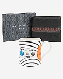 Solar System Mug and Wallet