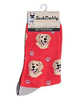 Golden Retriever Dog Socks