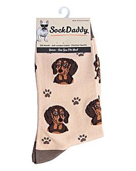 Daschund Dog Socks
