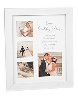Wedding Day Multi Frame