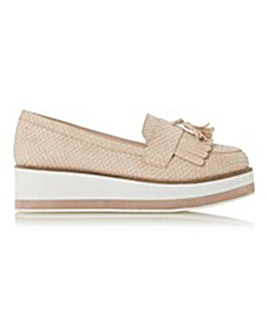 Head Over Heels by Dune Gillys Loafer