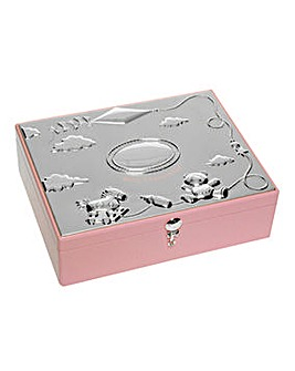 Baby Pink Large Keepsake Box