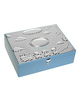 Baby Blue Large Keepsake Box