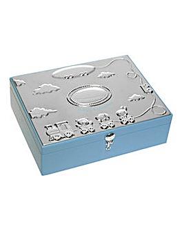 Baby Blue Large Keepsake Box