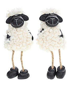 Black Dangly Sheep
