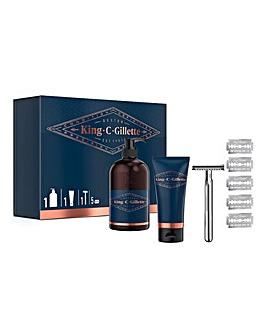 King C Gillette Double Edge Gift Set