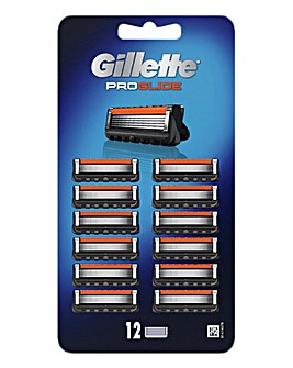 Gillette ProGlide 12 Razor Blades Pack