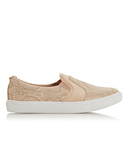 Head Over Heels by Dune Elsies Slip On