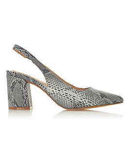 Head Over Heels by Dune Carissa Slingback Standard Fit