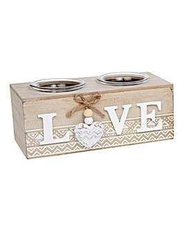 Provence Aztec Love Tealight Holder