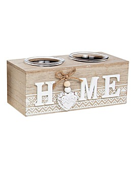 Provence Aztec Home Tealight Holder