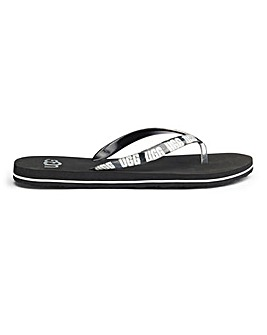 Ugg Simi Graphic Flip Flop