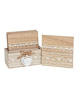 Provence Aztec Coasters