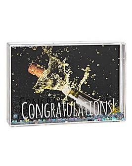 Glitzy Frames Set Congratulations