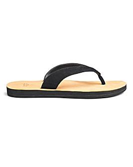 Ugg Tawney Leather Flip Flop
