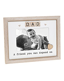 Scrabble Plaque Set Dad
