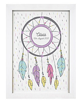 Personalised Dreamcatcher Wall Art