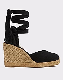 Aldo Muschett Ankle Tie Espadrille S Fit