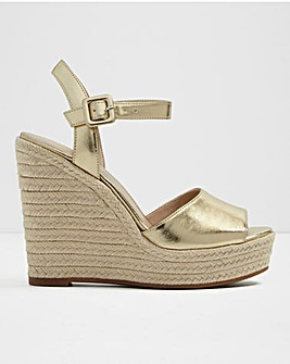 Aldo Ybelani Leather Espa Wedge S Fit